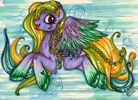 Fly so high to the sky by MadBlackie