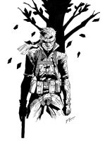 Naked Snake by diabolicol