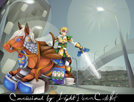 Highway Hyrule by Lady-of-Link