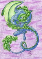 Ausuta Oriental Dragon by Scellanis