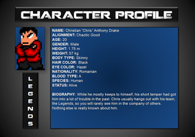 Chris [Character Profile] by HellKnight18x