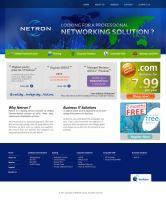 Web template for Netron by Dilantha