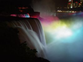 Lighted Falls by Phifty