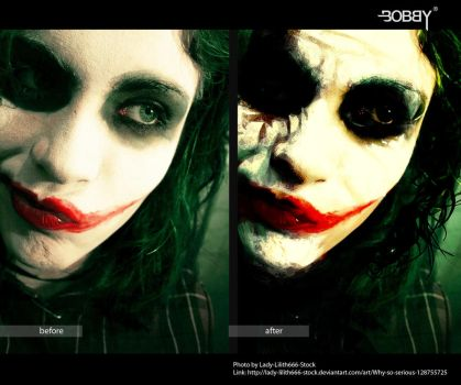 Joker Photo Manipulation by bobbybarredo