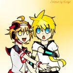 VOCALOID Lui x Len Colored by Me by Rody2
