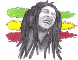 Bob Marley by draseart