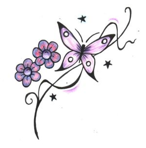 Cool Butterfly Tattoo Designs Gallery 28
