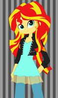 Sunset Shimmer by strawhatcrew96