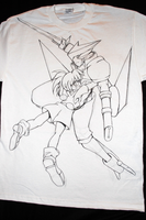 Brigadoon T-Shirt: LineArt Finish by OnyxSabre