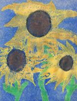 Steph's Sunflowers by Syanah