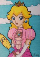 Commish: Princess Peach ACEO by LadyNin-Chan