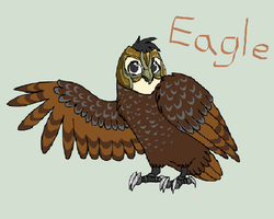 eagle the guardian by King-Coryn101