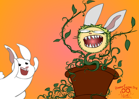Fanart Fridays! - Happy Easter 2012 by Octomantis