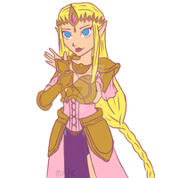 Zelda - Hyrule Warriors by MollysArtCorner