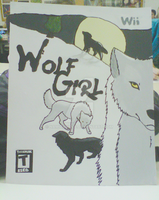 First Paint - Wolf Girl Wii by NamidaWolf