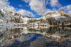 The Saddle to Albion Basin by mjohanson