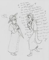 Father Brown and Father Fielek by Chrissyissypoo19
