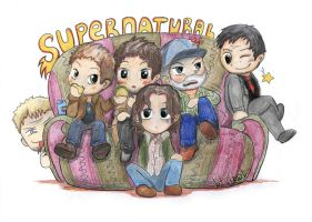 Supernatural company by PsihoSkulptor