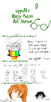 uppuN's Harry Potter Art Meme by Emily-Fay
