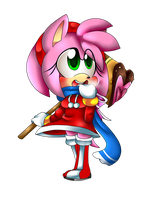 .Chibi Holiday Amy. by Sammi-Bishie