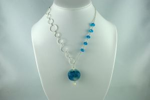 Bubbles Necklace by michelleaudette