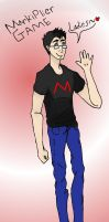 Markiplier Says HI! by WonderTroll