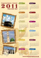 Islamic Calender 2011 by billax