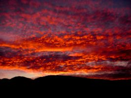 Sky on Fire by IndigoFlames