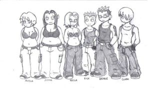 My Comic Characters by DFoot86