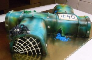 old pipe cake by wigur
