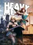 Heavy Metal Mag: Dravn Cover by kunkka