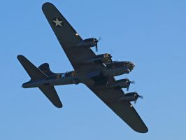 B17 Sally B Duxford by davepphotographer