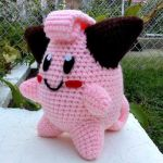 Crochet Cleffa Plush by ArtisansShadow
