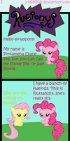 Rugponys I - Pinkie Introduces Fluttershy by jrk08004
