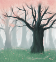Landscape practice by Letha-chan