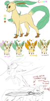 Coloris Reference Sheet by StarLynxWish
