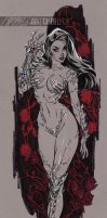 WitchBlade TALL by J-Scott-Campbell