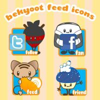 BeKyoot Feed Bar Icons by lafhaha
