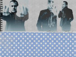 Heath Leger Wallpaper by LovesKatyPerry