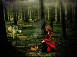Little Red Riding Hood by RoberLeSage