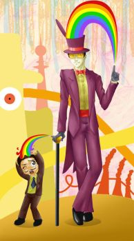 The Warden Loves His Rainbows by MidoriEyes