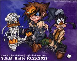 KH - :Halloweentown 2013: by StephRatte