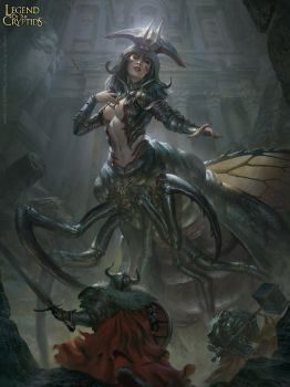 Quezia, Carapace Queen - Reguler by BillCreative