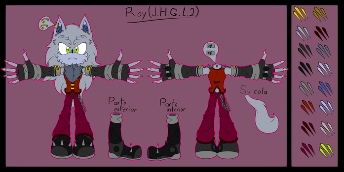 References to Roy (J.H.G.1.2) by GuilleWolf