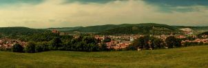 Sighisoara by blackasmodeus