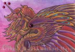 ACEO Unicorn 08 by rachaelm5