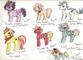 MLP AU Kids. by Featherplay