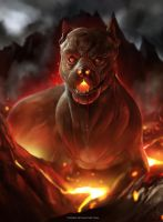 Puppy From Hell by sixfrid