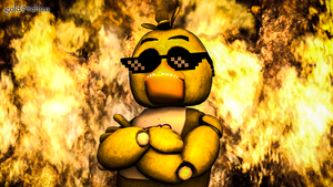 Cool Chics don't look at explosions(SFM Wallpaper) by gold94chica