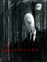 Charcoal Slenderman by Cageyshick05